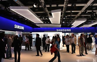 Samsung rules the roost
