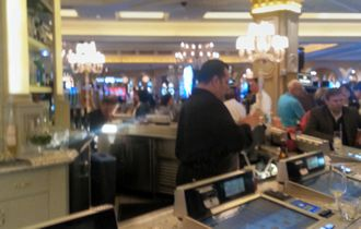 Venetian: bar in the casino