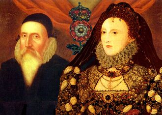 John Dee and Queen Elizabeth the first