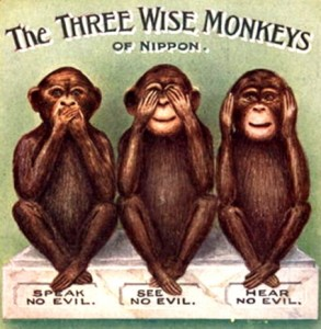 Three-Wise-Monkey