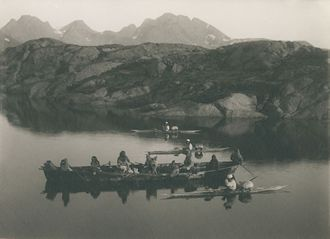 Greenland in the 19th century - picture Wikimedia Commons