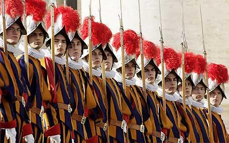 POPE-SWISSGUARD/WOMEN