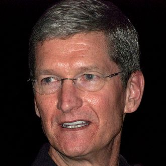 Apple's CEO Tim Cook - shot from Wikimedia