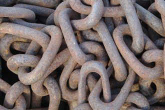 Rusty chain - Wikimedia Commons