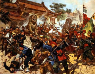 1900-intl-forces-including-us-marines-enter-beijing-to-put-down-boxer-rebellion-which-was-aimed-at-ridding-china-of-foreigners-