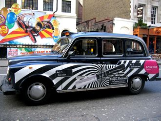 London Cab, Wikimedia Commons