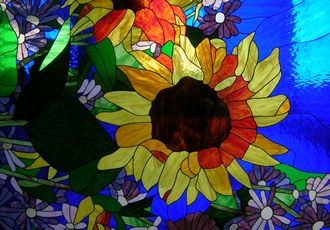 Stained Glass - picture Mike Magee
