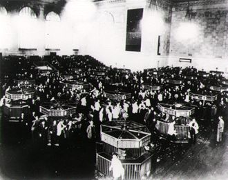 Wall Street Crash, Wikimedia Commons