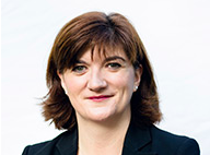 Nicky Morgan, department for education