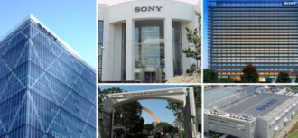 Sony buildings