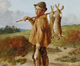 William_Hemsley_The_young_poacher_1874