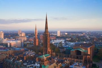 Coventry at dawn