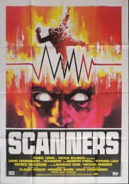 SCANNERS - Italian Poster 3