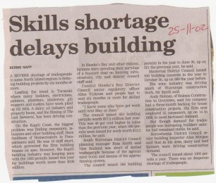 skills-shortage-delays-building-25-11-2002